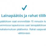 Blue Finance kokemuksia – Joustoluottoa heti 5000 euroa