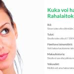 Rahalaitos – Lainaa 500-70.000 euroa nopeasti ja edullisesti