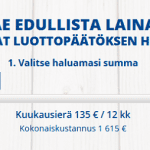 Euroloan – Luottoa 100-10 000 euroa