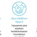 Vippi.fi – Lainaa heti 500 tai 2000 euroa