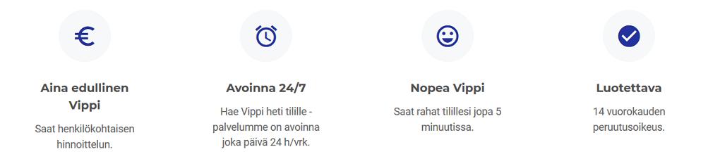 vippi.fi info