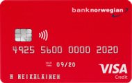 bank norwegian visa