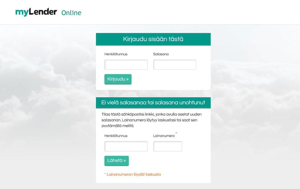 Mylender online