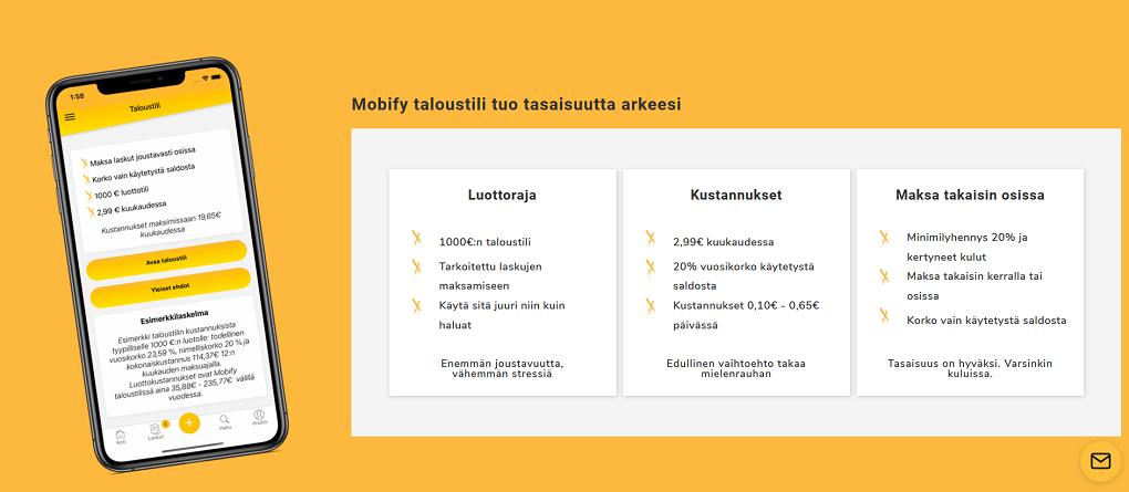 Mobify taloustili