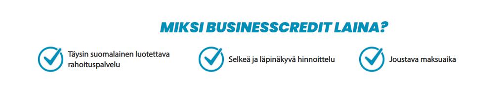 BusinessCredit laina