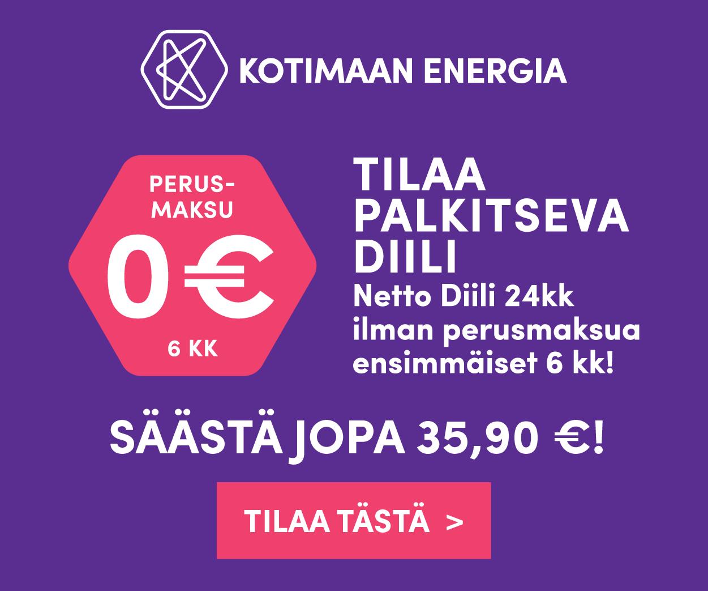 Kotimaan energia nettodiili